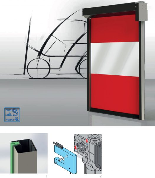 porta inox